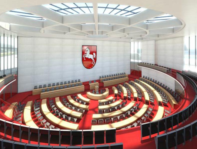 Landtag Hannover Entwurf Rosink