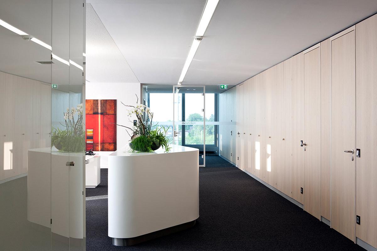 Bankeinrichtung Rosink Empfang Vorstand