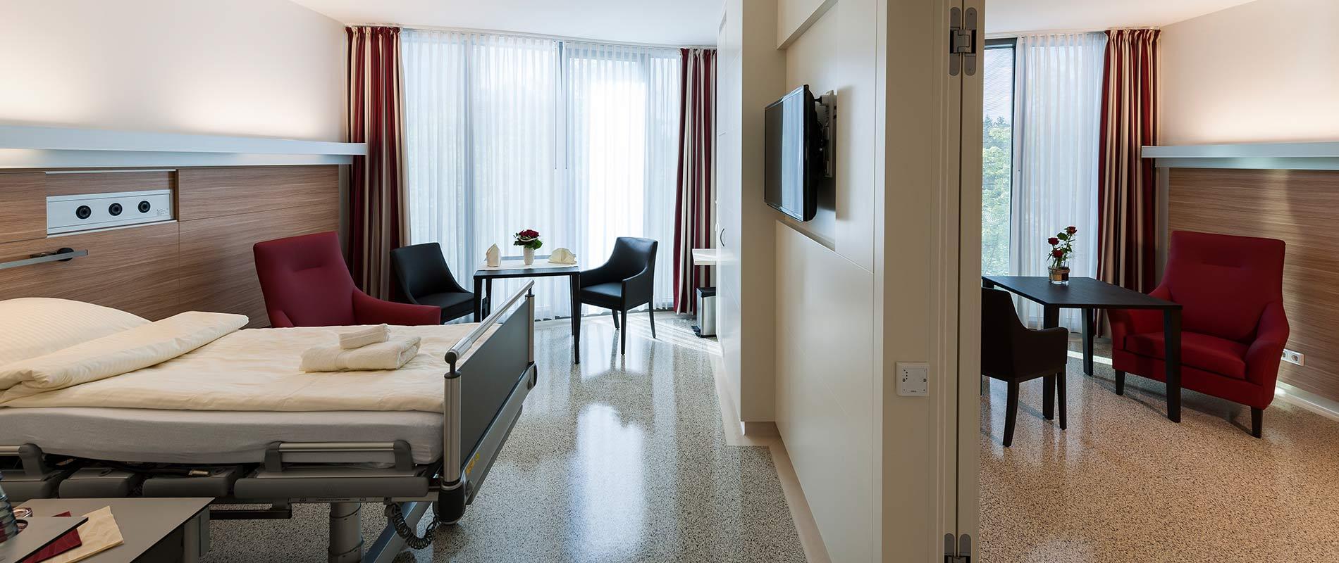 Hdz Patientenzimmer Suite Verbindungstuer