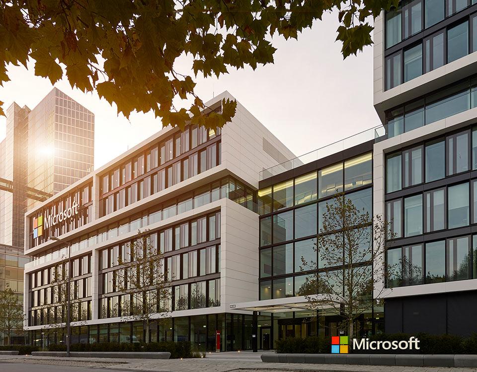 Microsoft Muenchen Deutschland Zentrale