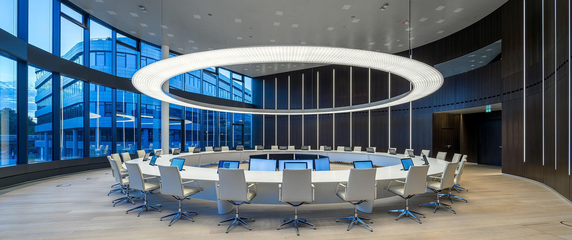 RheinEnergie Rosink Wandverkleidung Konferenzraum