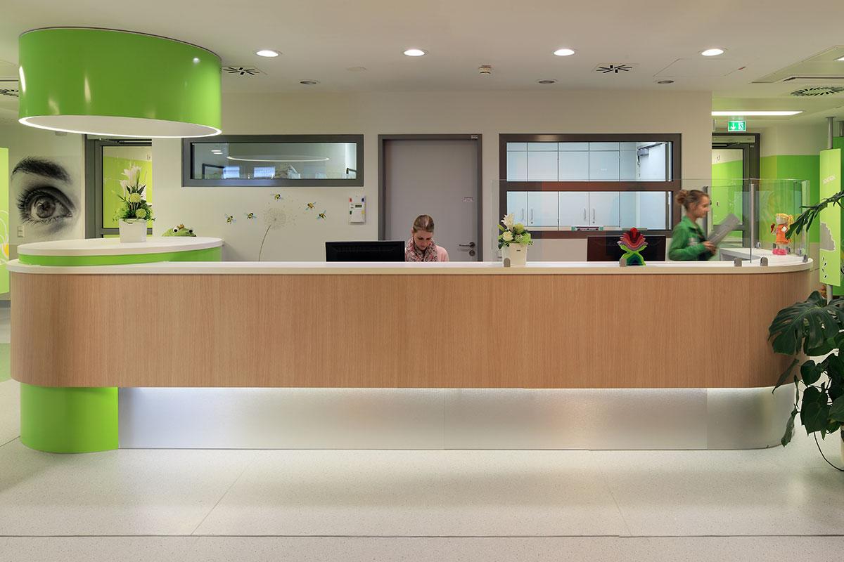 Klinikum Lippe Empfang Theke