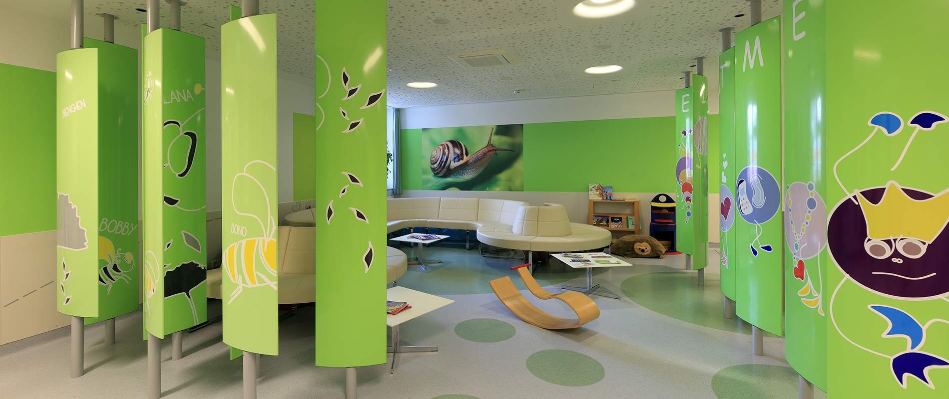 Klinikum Lippe Wartebereich Sitzbaenke
