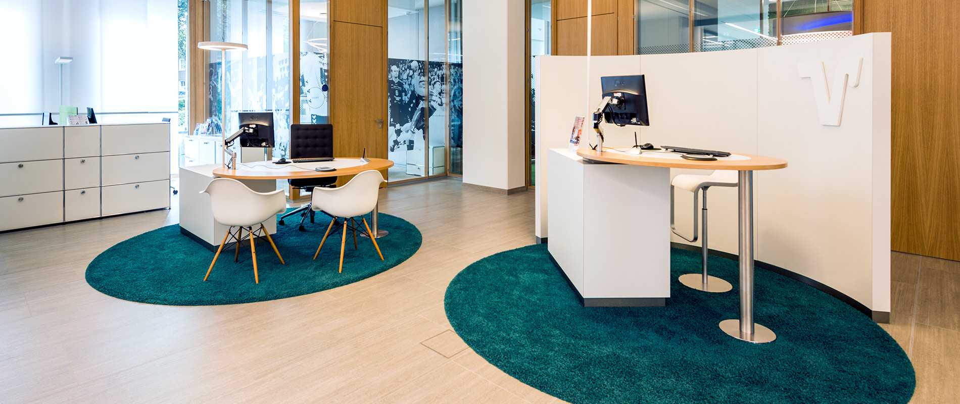 Volksbank Service Empfang Meetingpoint