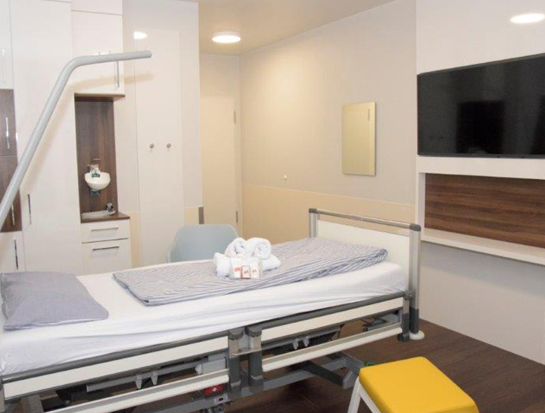 Klinkeinrichtung Krankenhaus Patientenzimmer Rosink Nordhorn