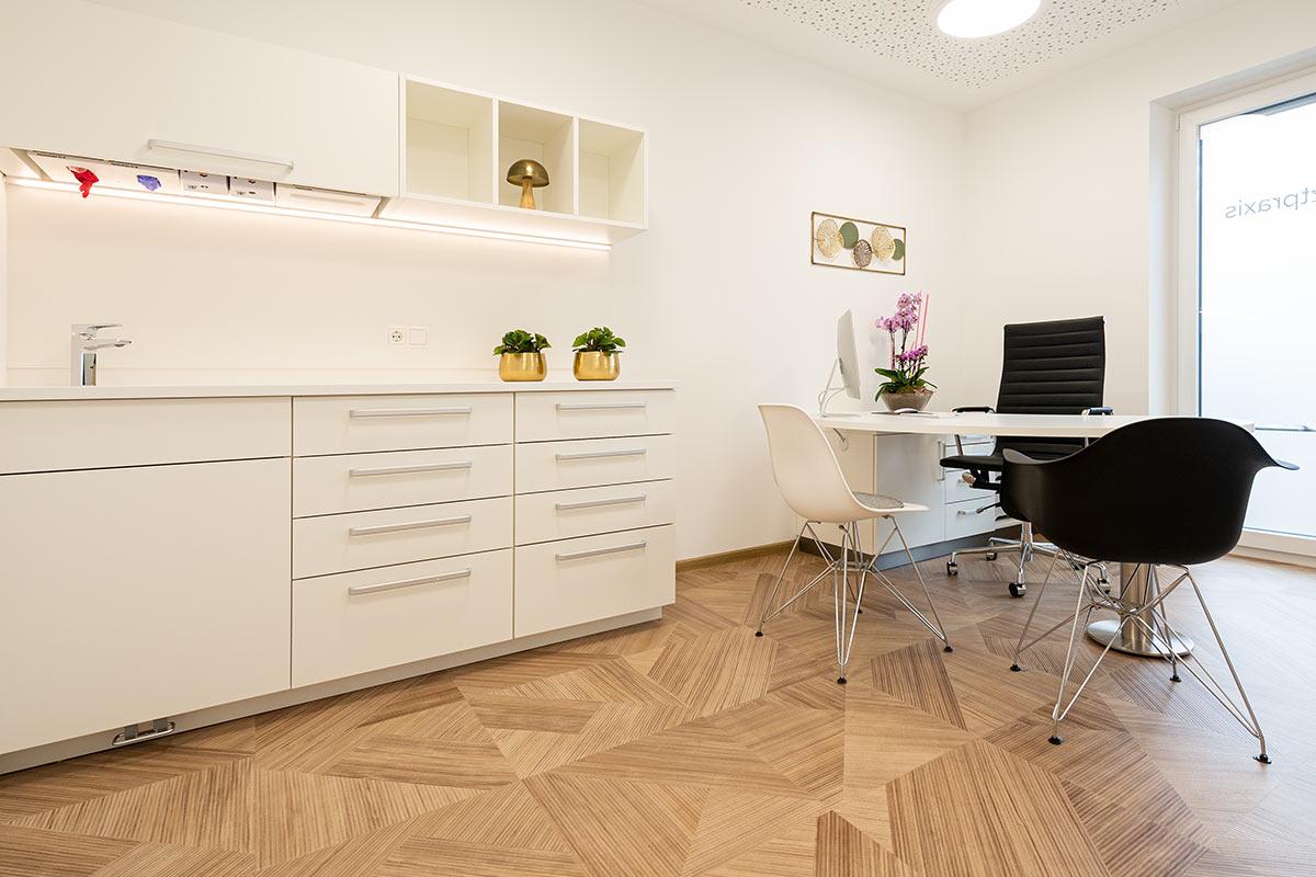 Arztpraxis Teekueche Einrichtung Rosink Nordhorn