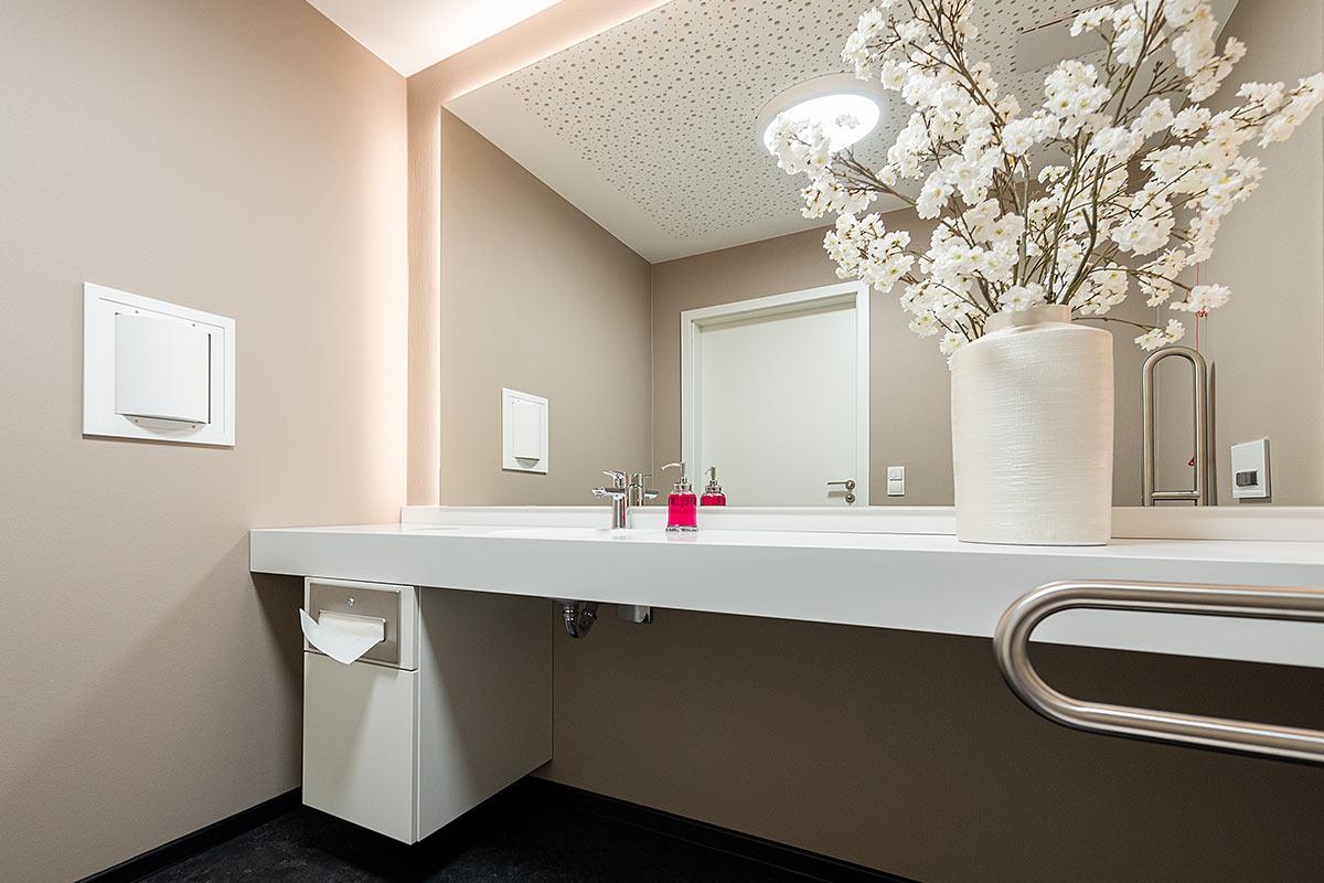 Arztpraxis Waschtische Labor Rosink Nordhorn