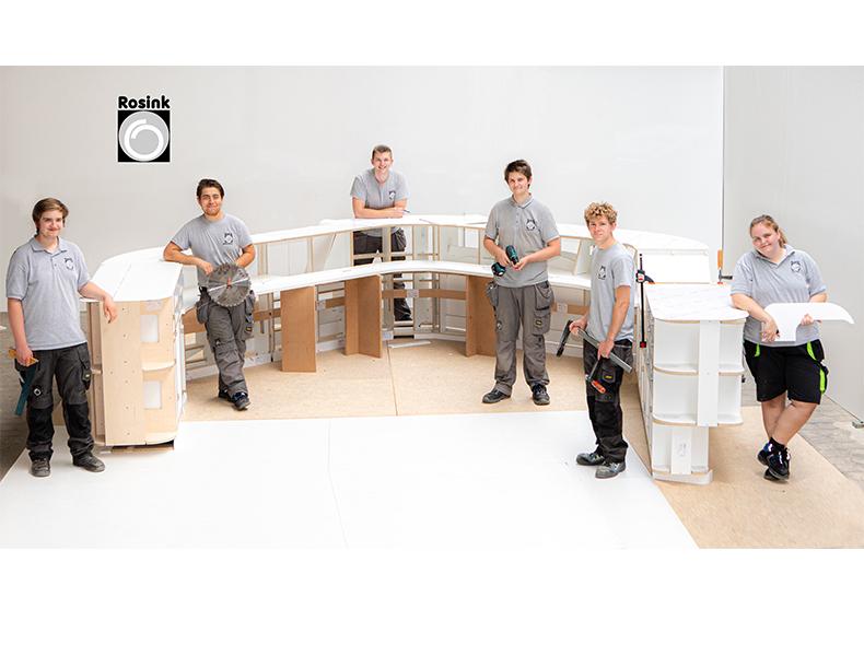 Ausbildung Rosink Objekteinrichtungen Nordhorn Holzmechaniker 2020