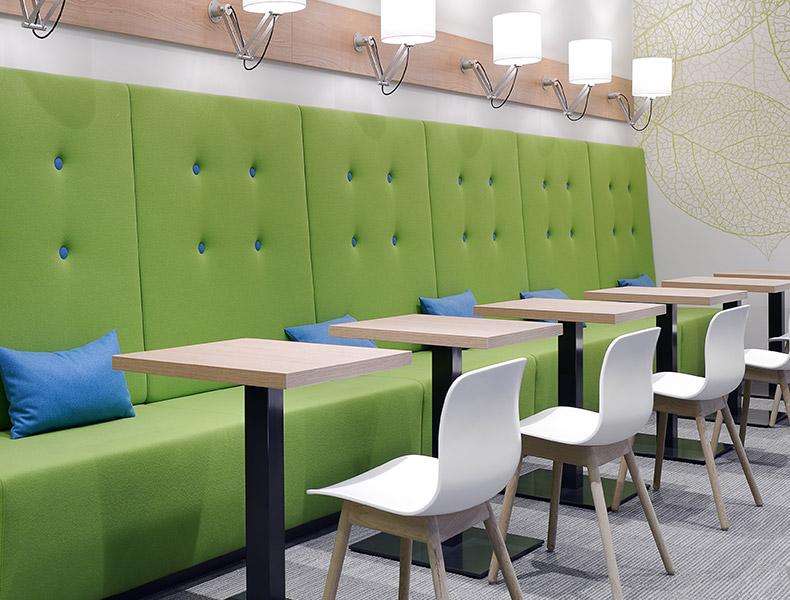 philips-sitzbaenke-cafeteria-kueche